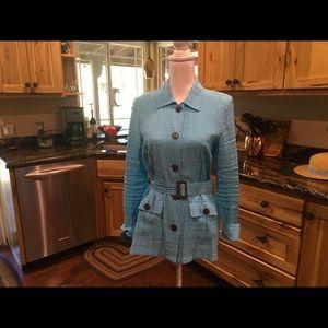 Button down Soft blue shirt
